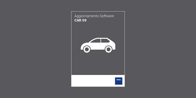 Aggiornamento software Car 59 Ambiente Car